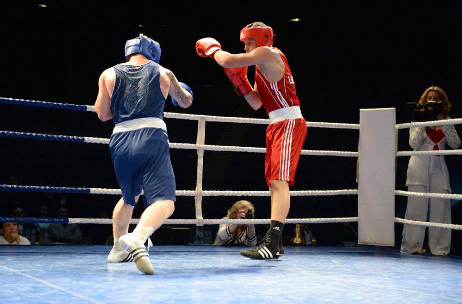 Lietuvos bokso 90-mečio minėjimas Vilniuje