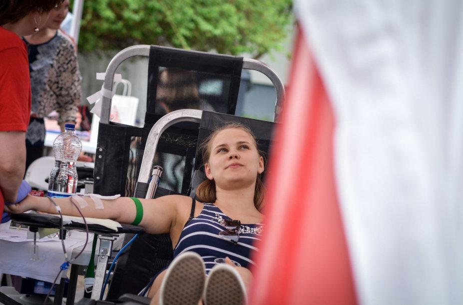 Muzikinė kraujo donorystė - Gmd'17