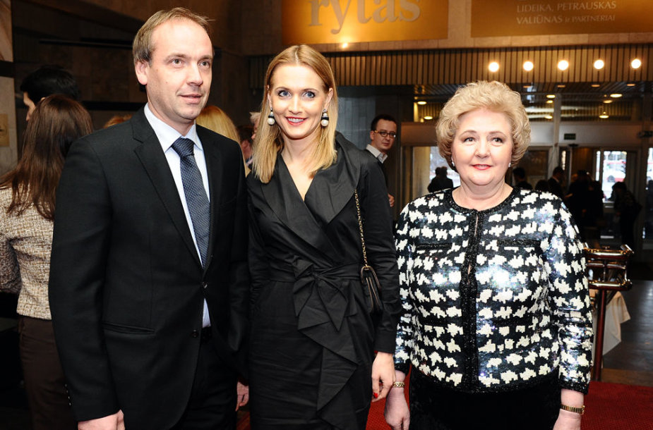 Ernestas Butrimas, Jurgita Alsytė ir Kristina Brazauskienė