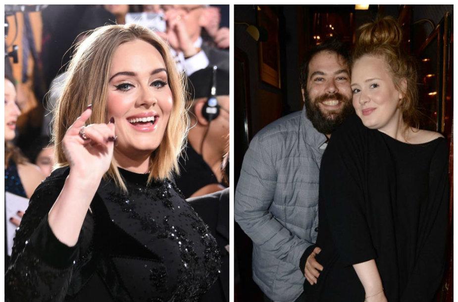 Adele ir Simonas Konecki