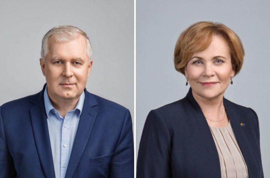 A. Anušaukas ir R.Juknevičienė