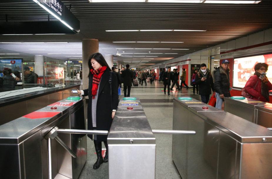 Kinijos metro