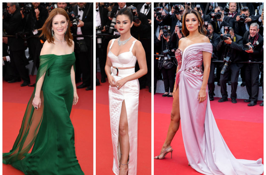 Julianne Moore, Selena Gomez, Eva Longoria