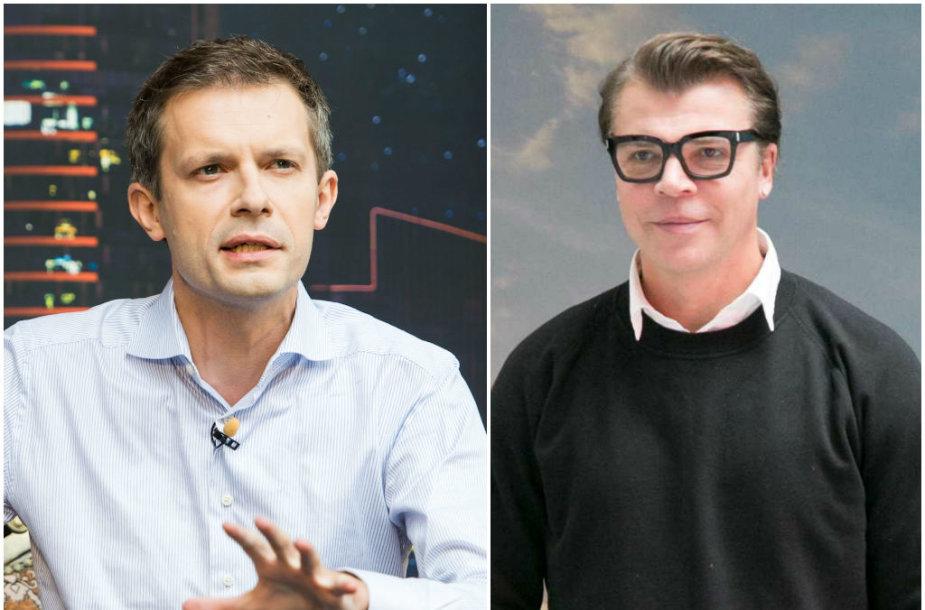 Andrius Tapinas ir Juozas Statkevičius