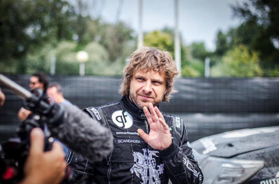 """Su viena pavara """"Italian Baja"""" lenktynes baigęs B.Vanagas užėmė šeštąją vietą"""