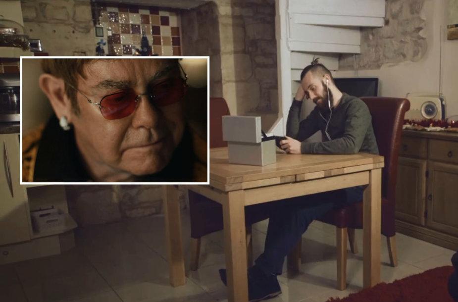 """Philo Beastallo kalėdinė reklama lyginama su """"John Lewis"""" reklama, kurioje šiemet nusifilmavo Eltonas Johnas"""