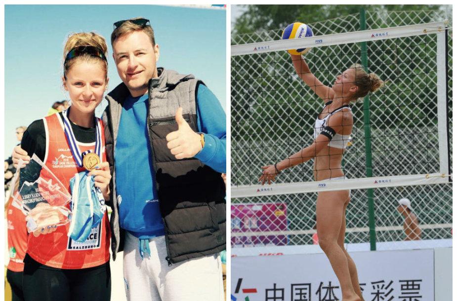 Monika Povilaitytė ir Simas Paulikas