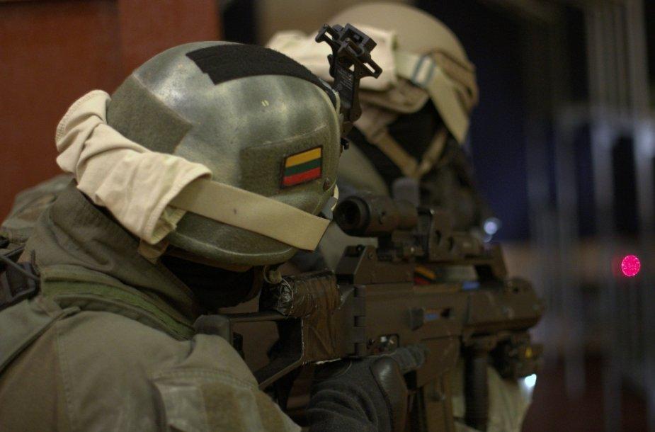 Lietuvos kariuomenės specialiųjų operacijų pajėgų kariai