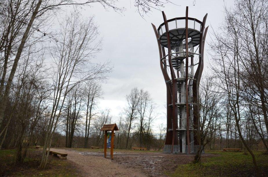 Ventos regioninio parko apžvalgos bokštas