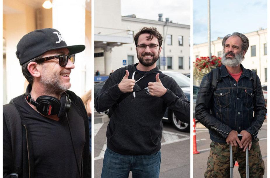 Davidas Faustino, Robas DenBleykeris ir Stevenas Oggas