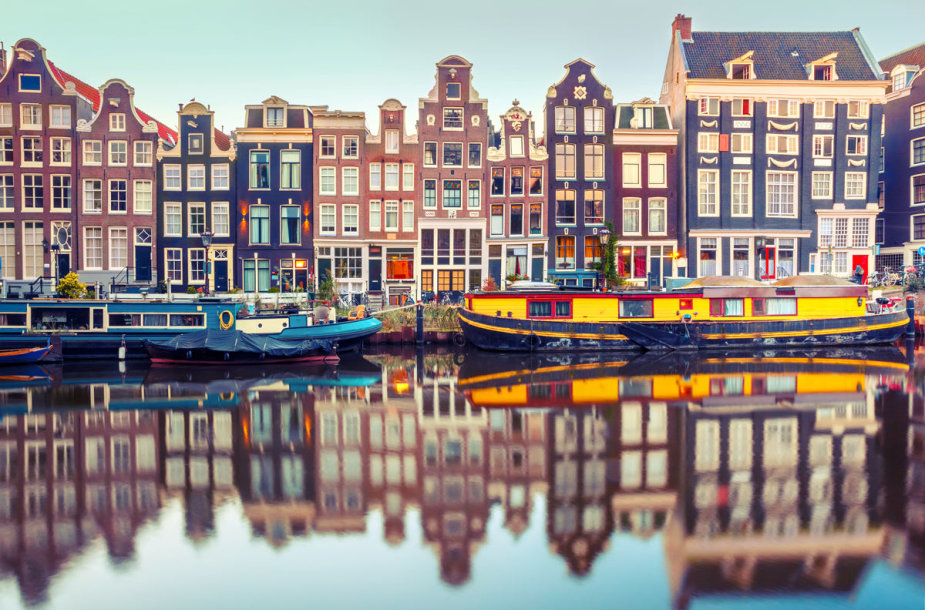 Amsterdamo kanalai, Olandija