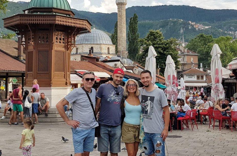 Vaikštant po Sarajevą