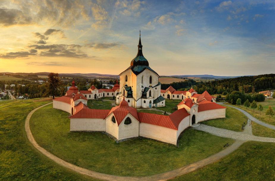 Zelená Hora – Ždiaro prie Sazavo s Šv. Jono Nepomuko bažnyčia