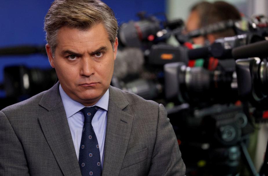 CNN reporteris Jimas Acosta