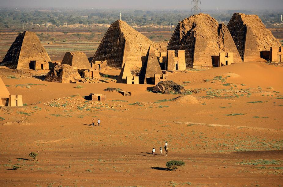 Piramidės Sudane