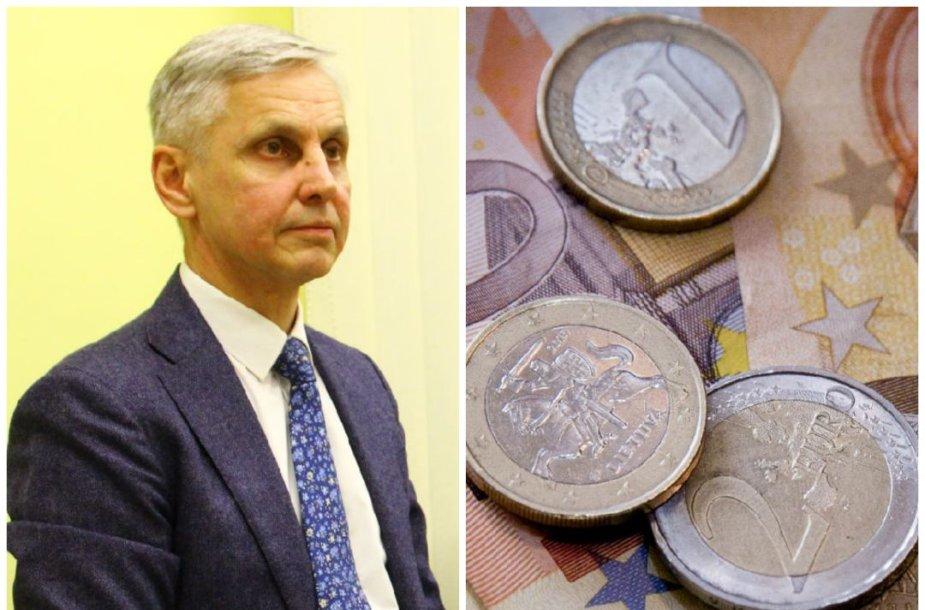 Povilas Urbšys neatgaus per 9 tūkst. eurų užstato