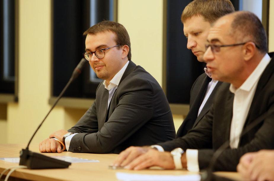 Kauno opozicijos spaudos konferencija