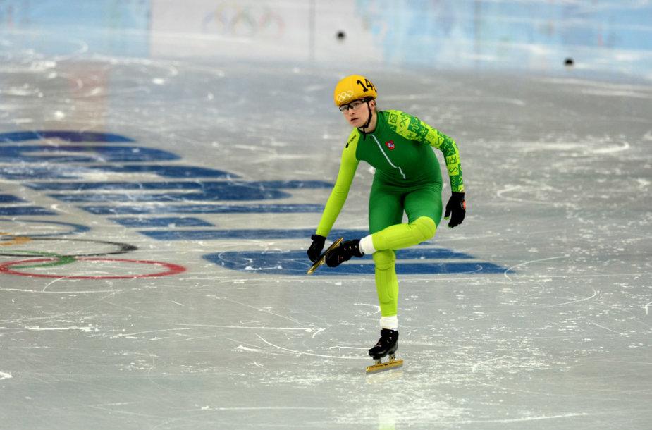 Greitojo čiuožimo atstovė Agnė Sereikaitė