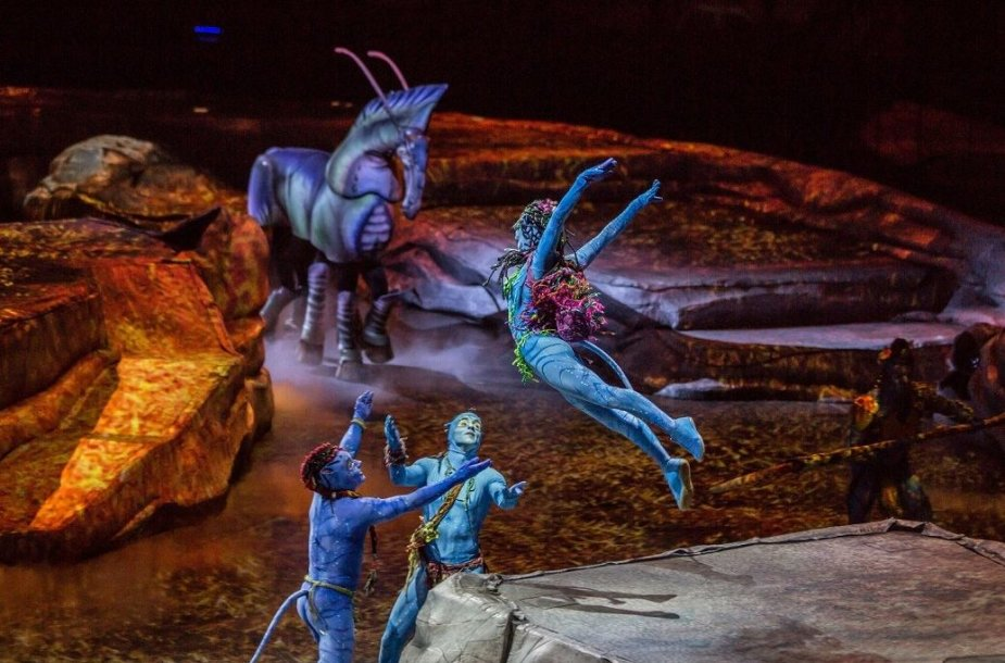 """Cirque du Soleil"" šou ""Toruk – The First Flight"""