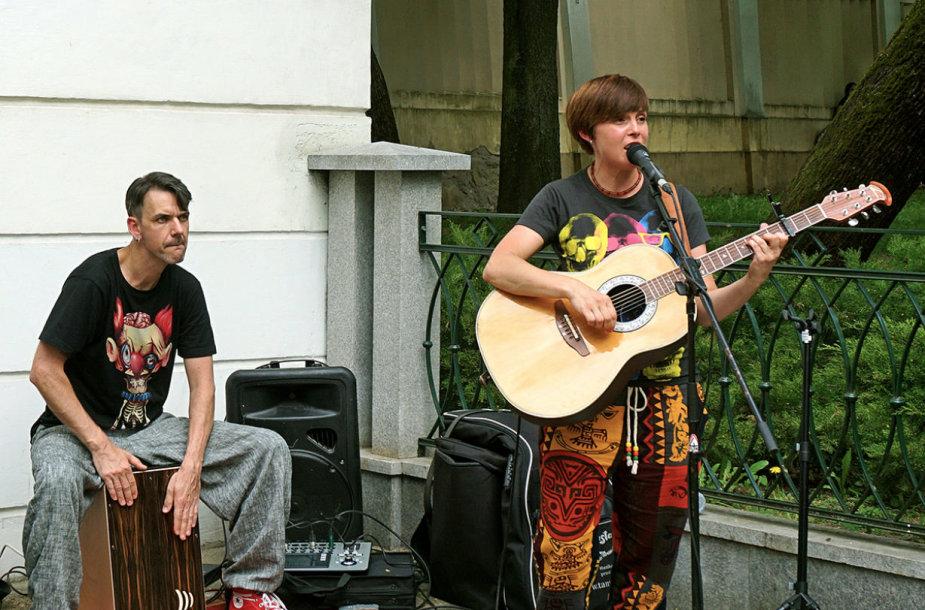Laimonas Staniulionis ir Julija Ritčik