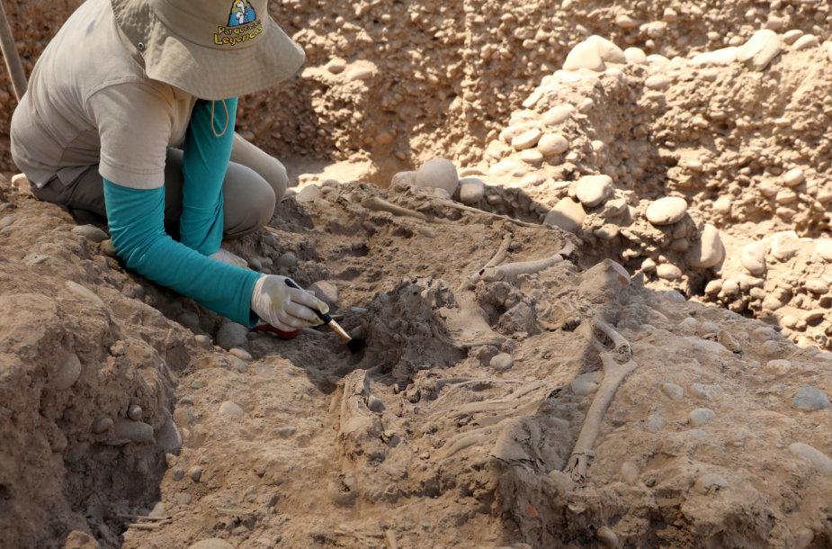 Archeologiniai kasinėjimai Peru