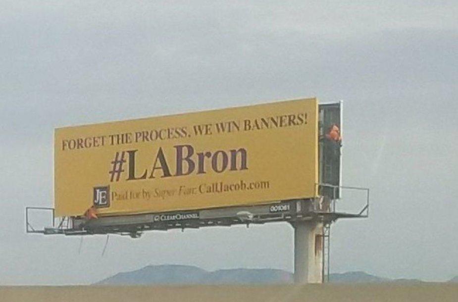 Los Andželas kviečia LeBroną