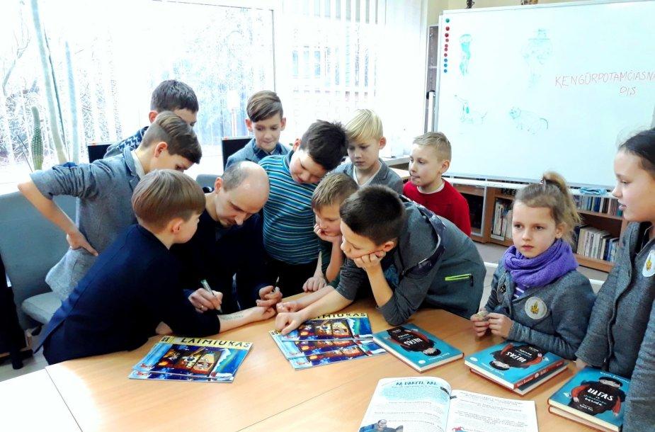 Vaikų knygų rašytojas Virgis Šidlauskas