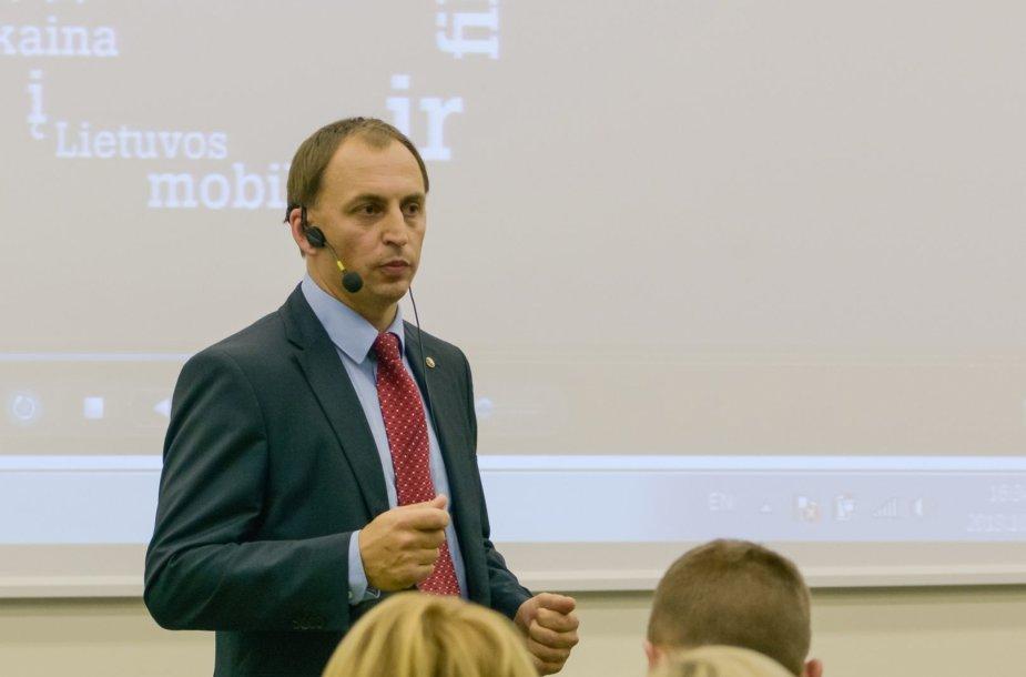 Viešųjų pirkimų tarnybos direktorius Žydrūnas Plytnikas