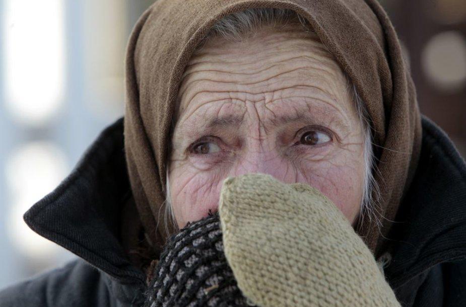 Šaltis kausto Ukrainą ir Rusiją