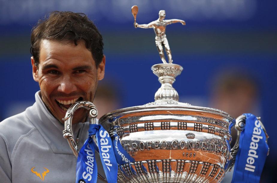 Rafaelis Nadalis 11-ą kartą tapo Barselonos turnyro čempionu