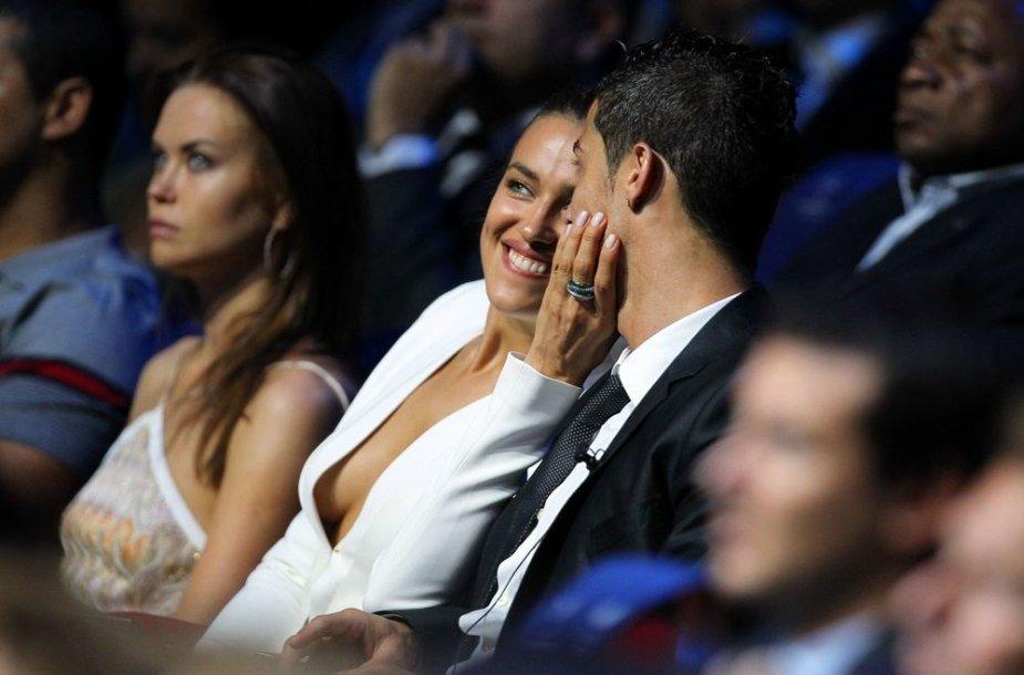 Irina Shayk ir Cristiano Ronaldo