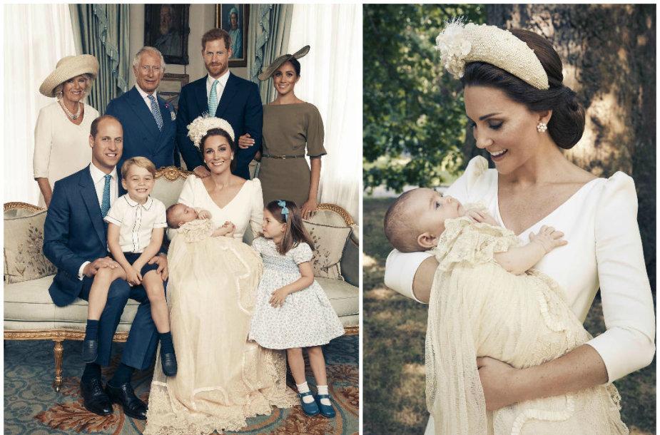 Karališkoji šeima per princo Louiso krikštynas