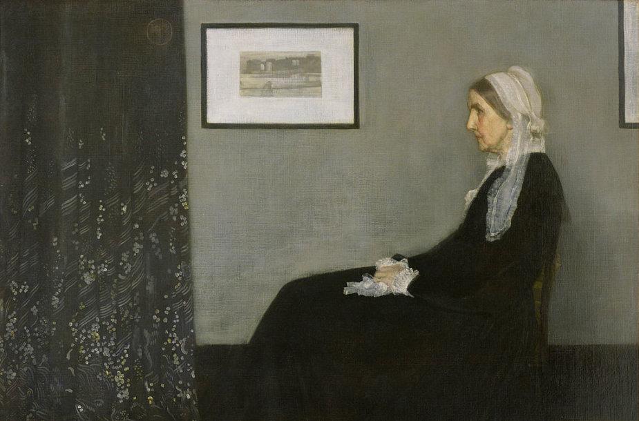 """Paveikslas """"Whistlerio motina"""""""