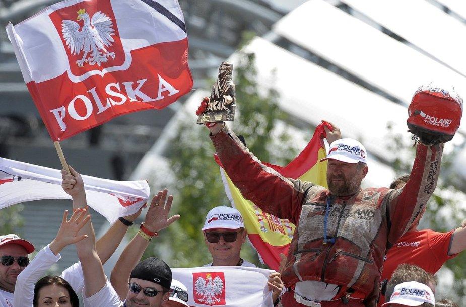 2015-ųjų Dakaro finišo pakyla