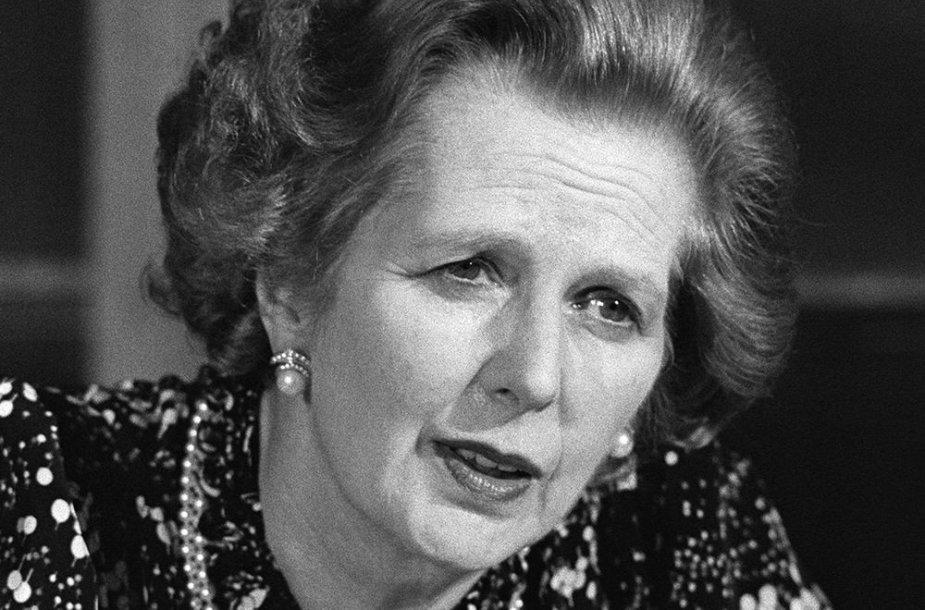 Margaret Thatcher 1984 metais