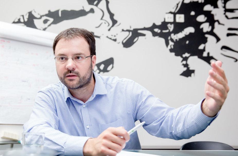 """RB Rail"" verslo plėtros vadovas Kasparas Briškenis"