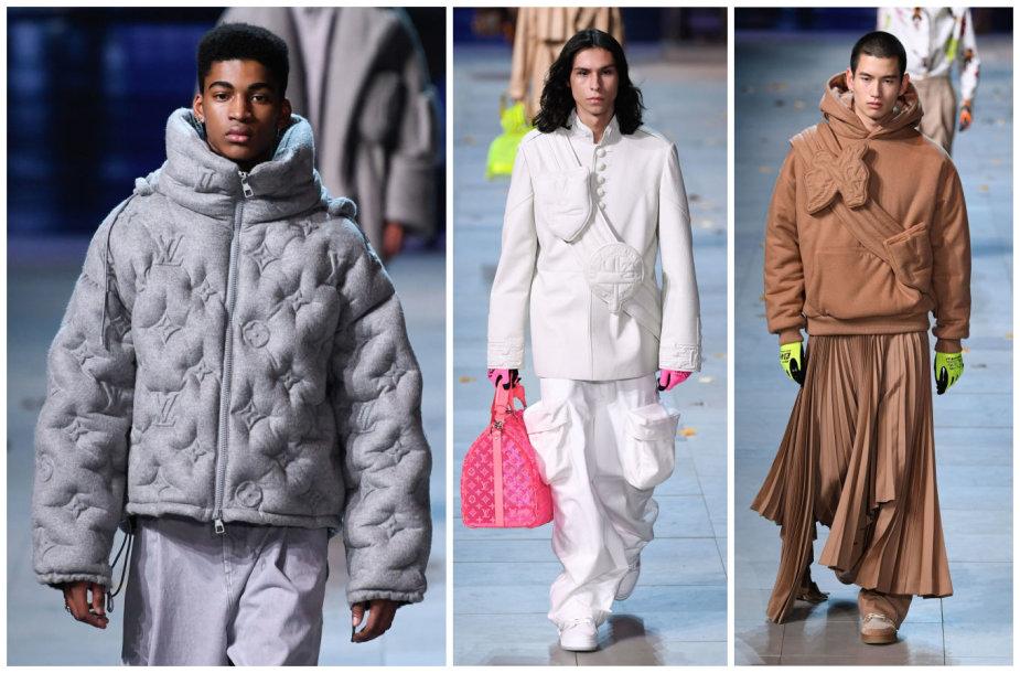 """""""Louis Vuitton"""" kolekcijos modeliai"""