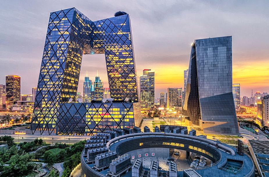 CCTV dangoraižis, Pekinas