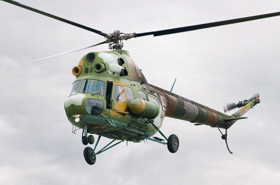Sraigtasparnis Mi-2