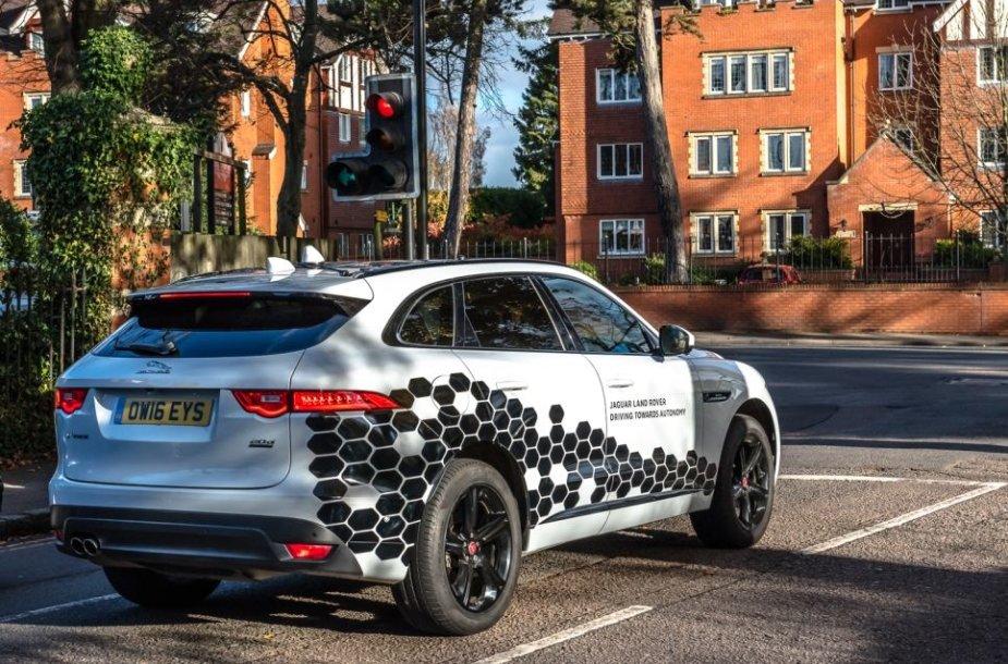 """Jaguar Land Rover"" ėmėsi ambicingo projekto"