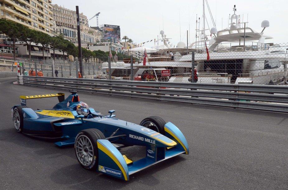 """Formulė-E"" lenktynės Monake"