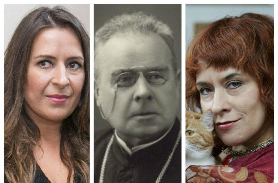 Kristina Sabaliauskaitė, Maironis ir Jurga Ivanauskaitė