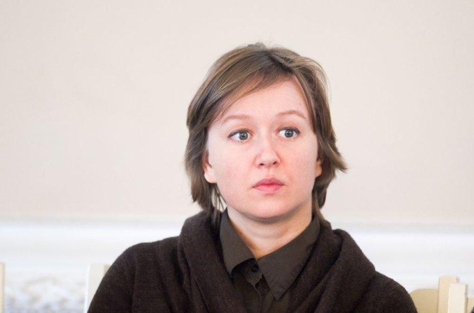Lietuvos muzikos ir teatro akademijos Kino ir TV katedros docentė, režisierė Giedrė Beinoriūtė