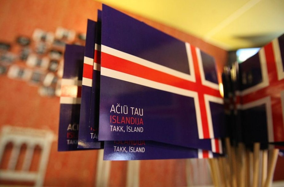 """Projektas """"Ačiū tau, Islandija"""""""