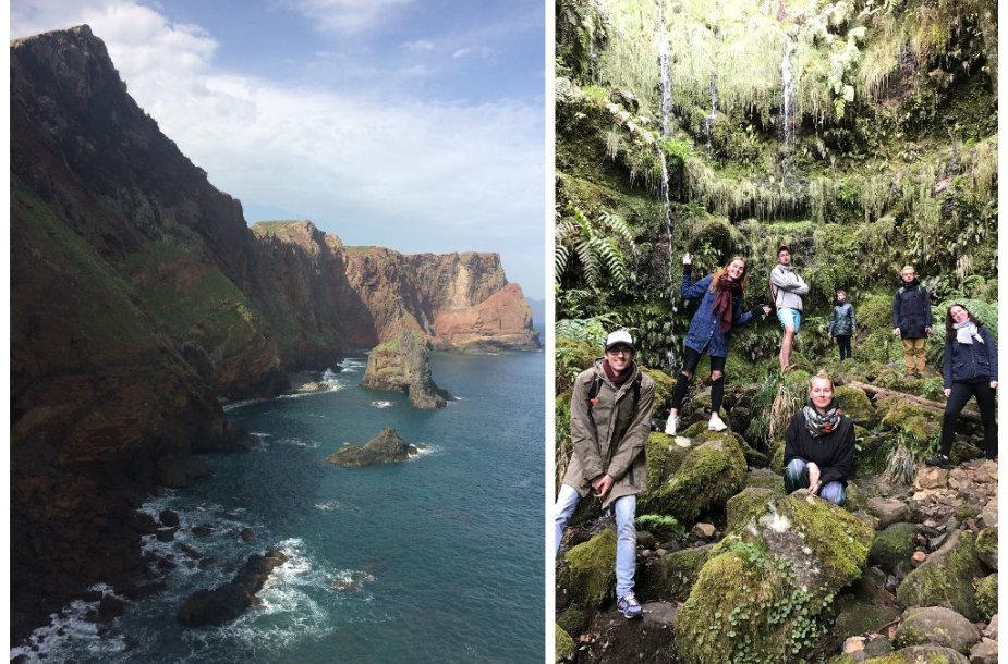 Kelionės Madeiroje akimirka