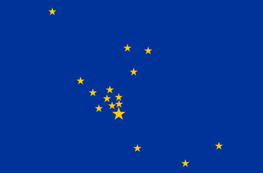 Europos Tarybos vėliavos nepatvirtintas variantas