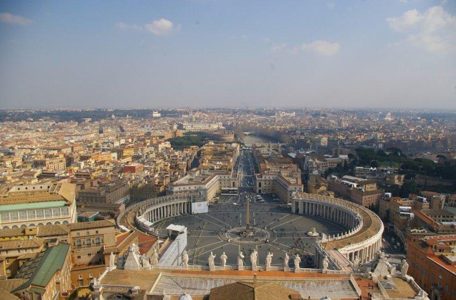 Vaizdas nuo Bazilikos viršaus