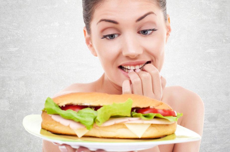 Kaip susilaikyti nuo emocinio valgymo?
