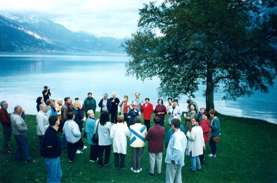 Šveicarija, Brienzo ežeras, Novaturo archyvo nuotr.