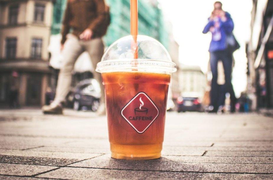 Caffeine puodelis